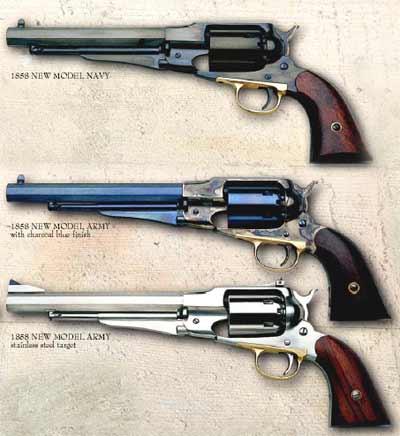 1858 REMINGTON NEW ARMY Cal.44.*. Eliphalet Remington commença sa