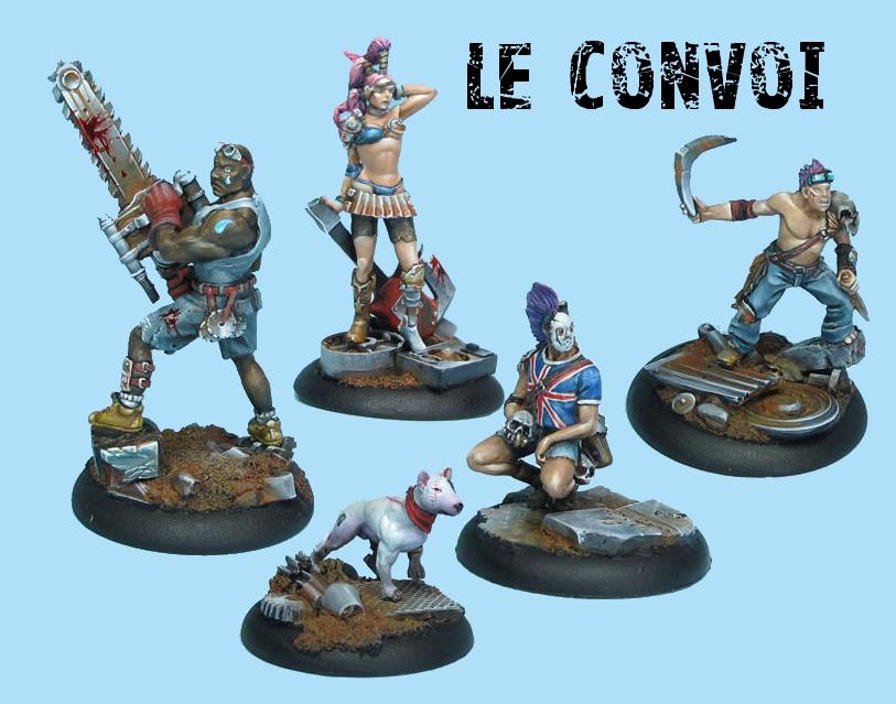Taban Miniatures Convoi